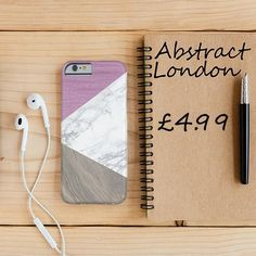 "Purple Mix Marble Design Phone Case✔ Apple and Samsung Galaxy Model ✔£4.99 ✔WorldWide Shipping use discount code ""pinterest123"" to get 10% off at checkout"