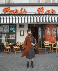 outfit: diversity & paris in berlin Fashion Weeks, Paris Bars, Berlin, German Fashion, Aesthetics, Inspiration, Retro, Coat, Jackets