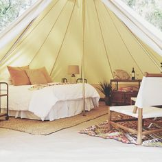 "Interior inspiration | ""Glamping"" photo shoot 