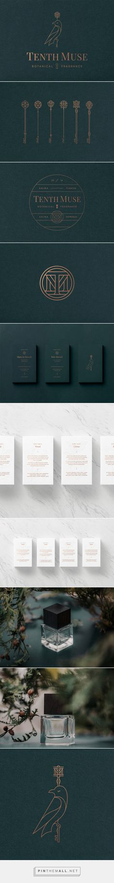 Tenth Muse Brand Identity by Studio MPLS | Inspiration Grid | Design Inspiration... - a grouped images picture - Pin Them All