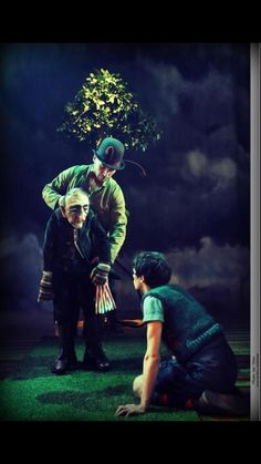 James and The Giant Peach - Rachael Canning - Theatre Design