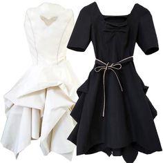 organic fair trade naturally bleached or black cotton GALA Princess Dress from BeeZee EcoKid
