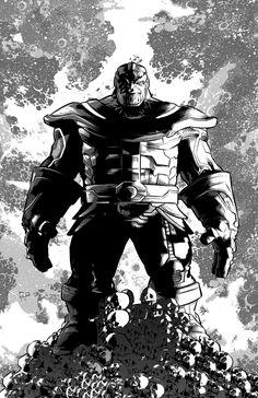 Thanos #1 B&W
