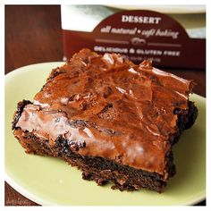 Stonewall Kitchen Chocolate Brownie Mix - best brownies ever AND gluten free!