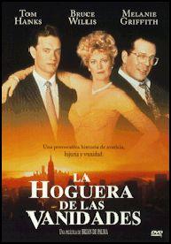 La hoguera de las vanidades (1990) EEUU. Dir: Brian de Palma. Drama. Sátira. Xornalismo. Racismo. Relixión - DVD CINE 1058