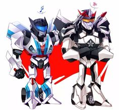 Transformers: Prime Prowl and Jazz