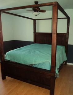 pleasant 4 poster bed frame. Vintage Fir Poster Bed  2 375 00 Viva Terra A Mt Pleasant Lifestyle Pinterest Firs Cozy and Modern