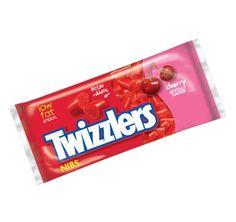 Twizzlers Nibs - Cherry, NOT black licorice!