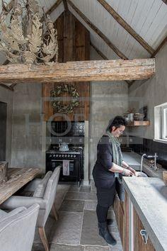 ...castle stones in keuken