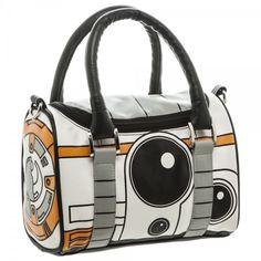 Star Wars 7 BB8 Droid Mini Satchel Handbag Zippered Purse With 48 Inch Strap #Disney #Satchel