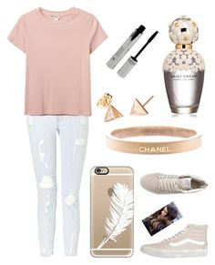 """Untitled #1203"" by sapnu2015 ❤ liked on Polyvore featuring Casetify, Current/Elliott, Monki, Vans, Chanel, Marc Jacobs, women's clothing, women's fashion, women and female"