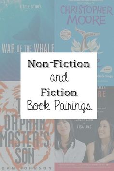 Pairing Non-fiction and Fiction Books