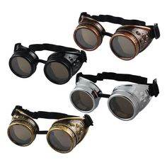 Awesome style combined with exceptional quality, performance, and comfort. Complete your look with these amazing Steampunk goggles. https://steampunkheaven.net/products/steampunk-cosplay-goggles?variant=29121577554