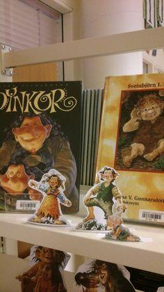Nordic library week 2014 - trolls - display.