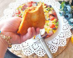 Kahvaltıya Şipşak Tencere Pizzası (20 Dakika) - Nefis Yemek Tarifleri Tacos, Pizza, Mexican, Ethnic Recipes, Food, Essen, Meals, Yemek, Mexicans