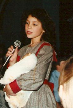 Joey Feek at a young age as she performs a song as beautifully as she did in her adult life