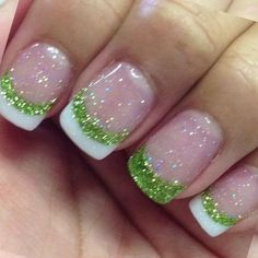 125 Best St. Patrick's Day Nails! View them all right here -> | http://www.nailmypolish.com/st-patricks-day-nails/ | @nailmypolish