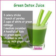 green juice recipe, green juice, juicing, jovanka, jovankaciares.com, detox juice