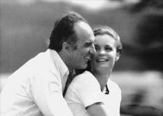 Romy Schneider e Michel Piccoli Romy Schneider, Movie Duos, Film Movie, Michel Piccoli, Where Are We Now, Friday Im In Love, French Movies, Jean Luc Godard, Actor Studio