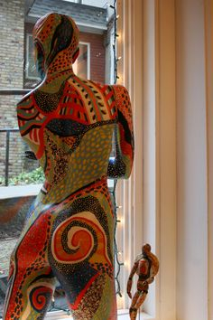 A Room with a View. Mannequin Art, Vintage Mannequin, Dress Form Mannequin, Mosaic Art, Mannequins, Portrait Art, Erotic Art, Statue, A Boutique
