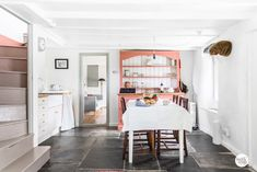 casa del caso: travelling with kids ♥ cornwall Family Vacation Destinations, Travel With Kids, Inspiration, Cottage, Rustic, Bude Cornwall, Kitchens, Furniture, Dining Rooms