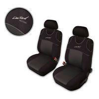 Autositzbezüge Sitzbezüge T-Shirt passend für Hyundai i20 Dunkelgrau Limited