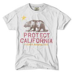 Protect California-Yosemite National Park T-Shirt