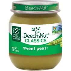 Beech-Nut Classics Stage 2 Apricot, Pear, & Apple Baby Food, 4 oz, (Pack of Pea Baby Food, Apple Baby Food, Sweet Potato Baby Food, Banana Baby Food, Baby Food Jars, Baby On A Budget, Canned Heat, Apple Pear, Food Allergies