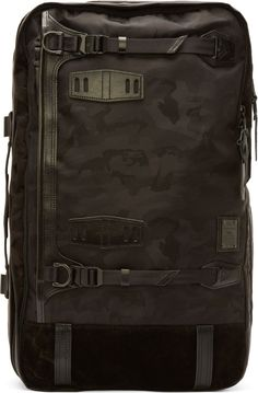 Master-Piece Co Black Camo 20th Anniversary Potential Backpack //