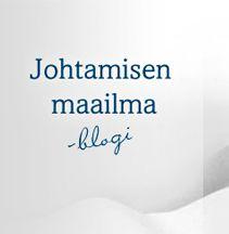 http://www.johtamisenmaailma.fi/ Johtamisen maailma -blogissa pohditaan johtamiseen liittyviä kysymyksiä ja johtamiskulttuurien erityispiirteitä sekä Suomen, Kiinan ja Baltian ajankohtaisia ilmiöitä.