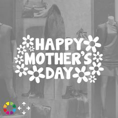 Mother's Day|Festive Window Stickers|Purlees - The one stop site for all your shop window stickers and display graphics, where you will find a stylish range of fully customisable designs for Christmas, festive and seasonal displays, as well as sale stickers and decorative decals.