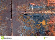 Rusted Metal. Nature's work of art.