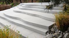 Stone steps, chelsea flower show