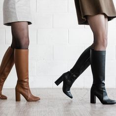 Claudia vegan knee high boots by Zette Shoes. Women's vegan leather boots. Vegetarian Shoes, Ethical Shoes, Vegan Boots, Vegan Fashion, High Heel Boots, Shoe Brands, Vegan Leather, Me Too Shoes, Leather Boots