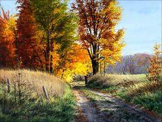 yağlıboya sonbahar tabloları - Google'da Ara