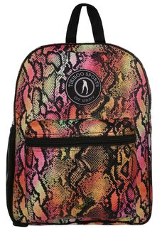 Spacious And Gorgeous, You Can Fill Tikiboo's Exotic Snake Rucksack With All Your Workout Kit Including Towel, Trainers And Clothes. The Wild Design Co-ordinates With Our Exotic Snake Activewear, A Dazzling Print In A Tropical Palette. Large Water Bottle, Gym Bags, Vera Bradley Backpack, You Bag, Activewear, Trainers, Snake, Travelling, Fill