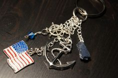 The Navy Keychain