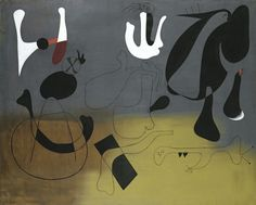 Joan Miró Painting, 1933 Oil on canvas 51 3/8 × 64 1/8 in 130.5 × 162.9 cm Wadsworth Atheneum Museum of Art / Art Resource, NY / Miro, Joan (1893-1983) © ARS, NY Wadsworth Atheneum Museum of Art, Hartford
