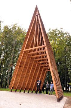 Funeral Chapel and Memorial Place,© András Krizsán + Alexandra Varbai