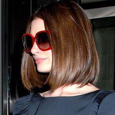 amei o corte de cabelo dela!