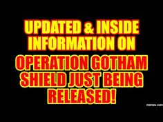 PLANET X NEWS-OPERATION GOTHAM SHIELD UPDATED & INSIDE INFORMATION April 23, 2017 - YouTube