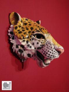 Felted mask. Stefanie Buss