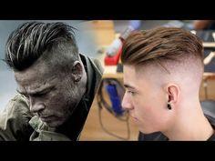 Brad Pit Fury Haircut 10425 Brad Pitt Fury Haircut Tutorial Lovely Brad Pitt Hair From Fury Undercut Men, Undercut Hairstyles, Hairstyles Haircuts, Funky Hairstyles, Medium Hairstyles, Formal Hairstyles, Wedding Hairstyles, Brad Pitt Fury Haircut, Brad Pitt Hair