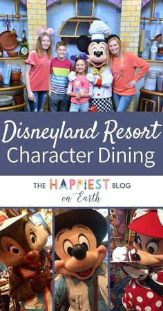 Disneyland Resort character dining, where to eat to meet your favorite Disney characters for coveted one on one time. Disneyland Secrets, Disneyland Food, Disneyland Vacation, Disney Vacation Club, Disney Cruise Line, Disney Trips, Vacation Trips, Vacations, Disney Souvenirs