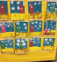 Printmaking buddy activity with Kinders and explanation of Social component being taught Social Studies Curriculum, Social Studies Activities, Art Activities, Art Lessons For Kids, Art For Kids, Teachers Corner, Social Art, School Subjects, Arts Ed