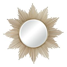 $315 41 inch Churchfield Metal Frame Starburst Mirror | Overstock.com Shopping - The Best Deals on Mirrors