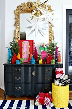 It's A Colorful Life 2019 Christmas Home Tour Christmas Past, All Things Christmas, Christmas Holidays, Christmas Crafts, Christmas Decorations, Holiday Decor, Black Christmas, Happy Holidays, Christmas Ideas