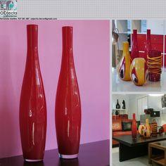 Jarras em vidro opalino vermelho..... Gostam ? https://www.facebook.com/objecta.segunda.mao/photos/a.502677349868970.1073741830.501864669950238/610280789108625/?type=3&theater