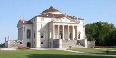 Vicenza Thomas Jefferson e Palladio Temple Architecture, Classical Architecture, Historical Architecture, Andrea Palladio, Villa, Renaissance Era, Thomas Jefferson, 17th Century, Mansions