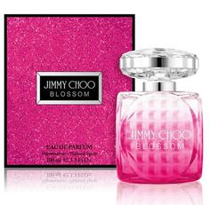 New! Jimmy-Choo-Blossom # Top notes: citrus, red fruits, raspberry; Heart: sweet pea, rose; Base: sandalwood, white musk